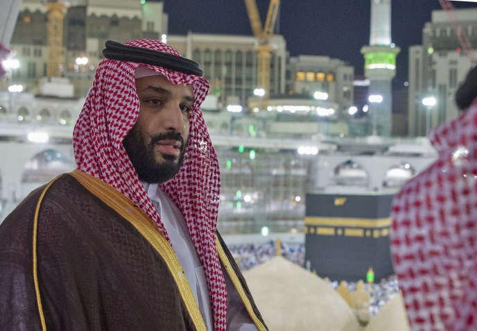Le prince héritier d'Arabie saoudite, Mohammed Ben Salman, à La Mecque, le 12 février.