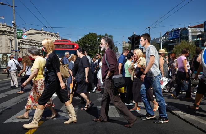 A Belgrade, en 2017. (photo extraite du projet « Crossing Europe»)