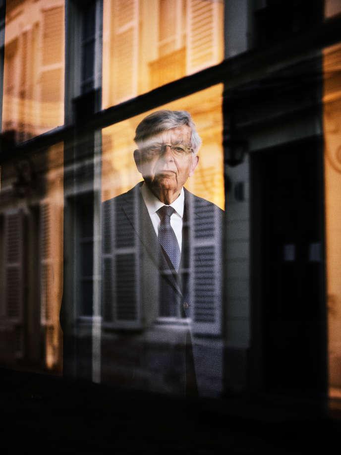 Jean-Pierre Chevènement à Paris le 15 février.