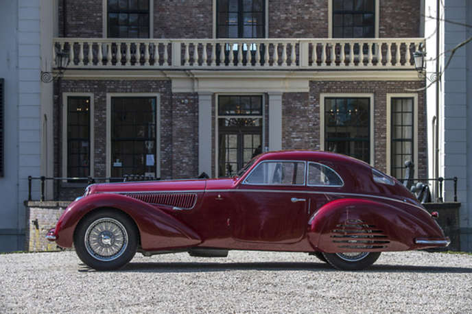 L'Alfa Romeo 8C 2900 B Touring Berlinetta est désormais la troisième automobile d'avant-guerre la plus chère du monde.