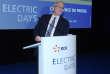 A Paris, le 10 octobre 2018. Jean-Bernard Lévy, le PDG d'EDF a été reconduit à la tête de l'électricien.