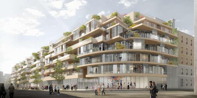 Emerige et Icade vont construire un immeuble de logements privés sur le site des Ateliers Vaugirard.