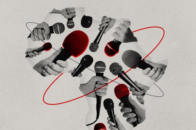 Illustration Le rendez-vous des idées / Le Monde Afrique