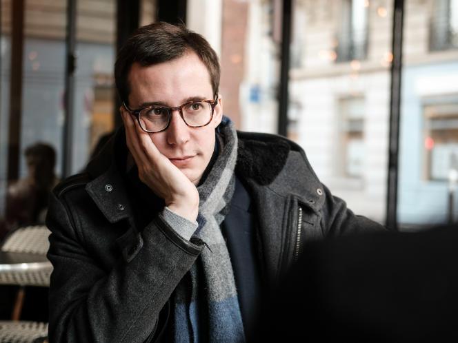 François Boulo, un des porte-parole des« gilets jaunes», à Paris, le 14 février.