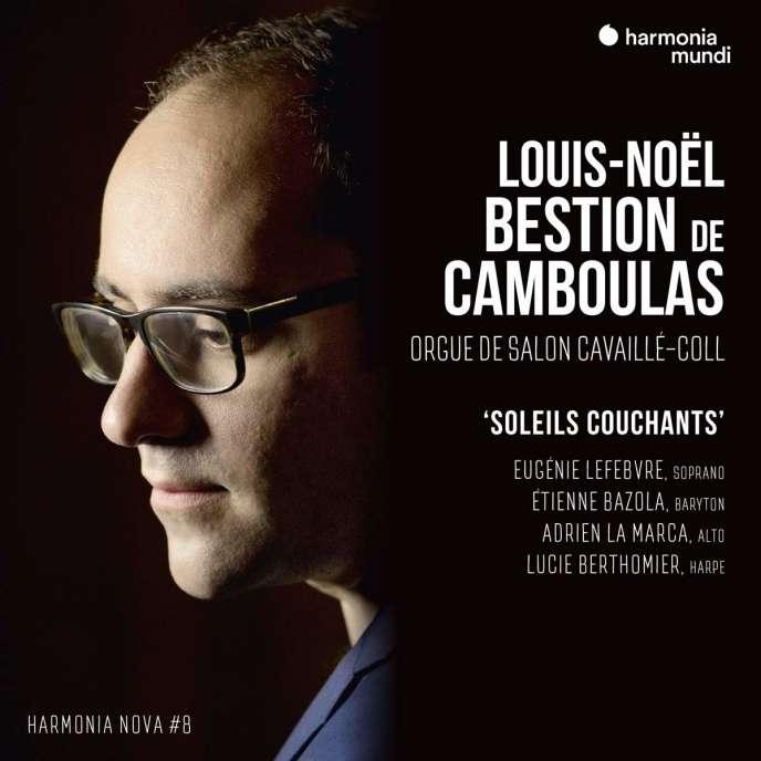 Pochette de l'album« Soleils couchants», deLouis-Noël Bestion de Camboulas.