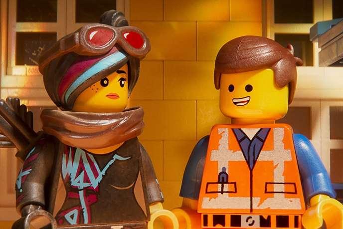 Une image extraite du film d'animation américain deMike Mitchell,«La Grande Aventure Lego 2».