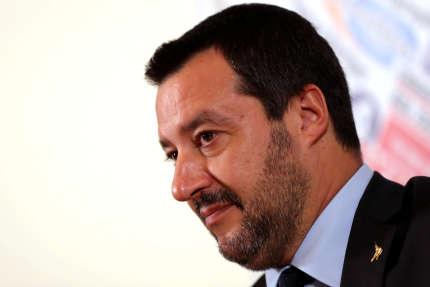 Matteo Salvini à Rome, en décembre 2018.