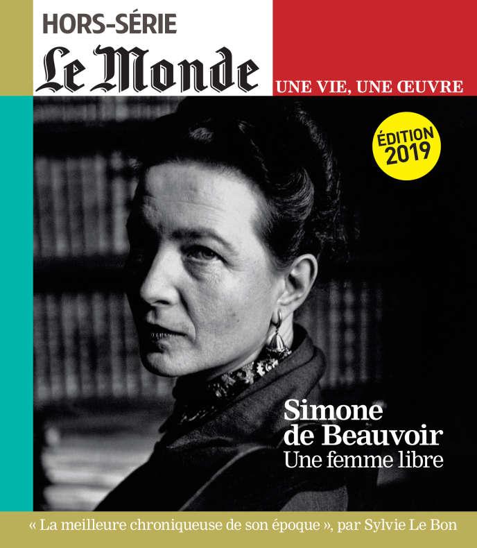 « Simone de Beauvoir, une femme libre », un hors-série du« Monde».