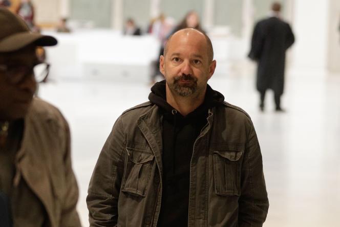 Comme Alexandre Benalla, Vincent Crase est arrivé libre au Palais de justice, à Paris, le 19 février.