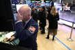 Trader au New York Stock Exchange