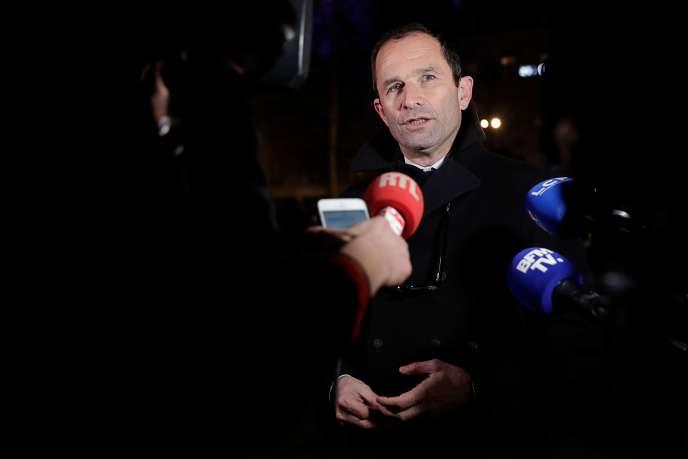 Benoît Hamon, à Paris, le 19 février.
