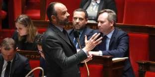 Edpuard Philippe, à l'Assemblée nationale, le 19 février.