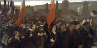 «La grève ouvrière aux usines Schneider du Creusot», de Jules Adler (1899).
