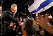 Benny Gantz, lors d'un meeting de campagne, le 19 février à Tel Aviv.