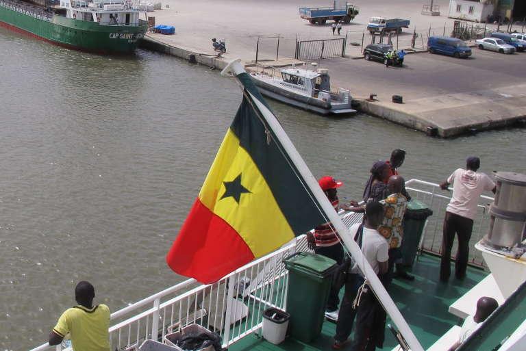 Le port de Ziguinchor, capitale de la Casamance, au Sénégal, en mai 2015.