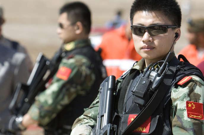 Des agents de sécurité protègent les intérêts de la compagnie pétrolière chinoise CNPC présente en Orient comme en Afrique, notamment au Soudan du Sud.