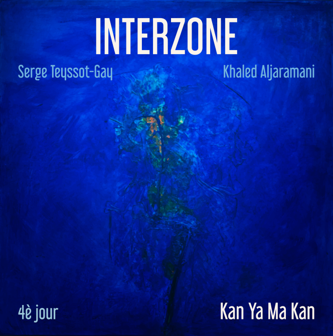 Pochette de l'album« Kan Ya Ma Kan - 4è jour», d'Interzone.
