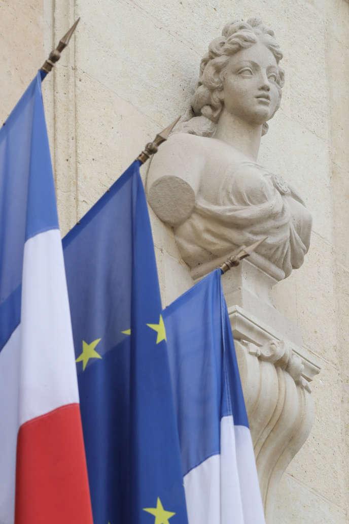 Un statue de Marianne à l'Elysée. Photo prise en octobre 2018.