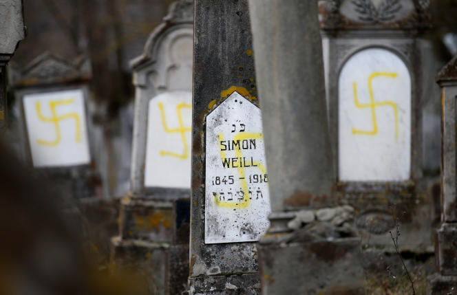 A Quatzenheim, petite commune rurale alsacienne de 780 personnes, le cimetière juif fait partie du patrimoine.