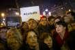 Grand rassemblement contre l'antisémitisme, place de la République à Paris, mardi 19 février.
