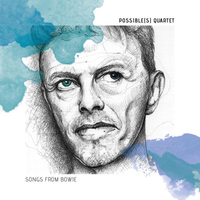 Pochette de l'album« Songs From Bowie», du Possible(s) Quartet.