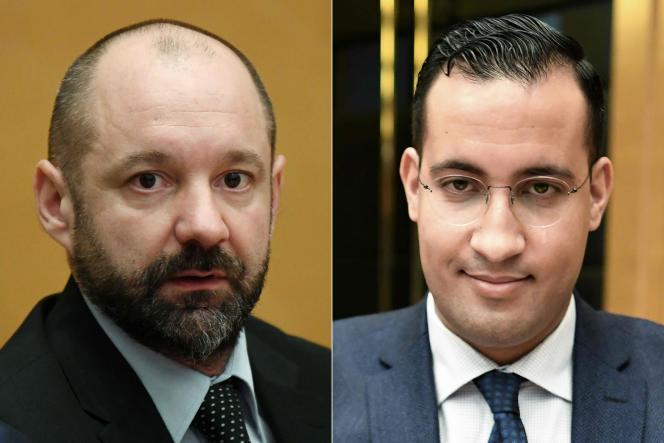 Vincent Crase et Alexandre Benalla ont été placés sous mandat de dépôt à l'issue de leur entrevue avec le juge, à Paris, le 19 février.