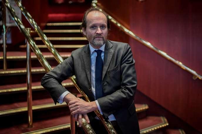 Le producteur Jean-Marc Dumontet en2018.