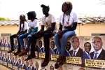 Place de l'Obelisque à Dakar, le 21 février, 2019. / AFP / SEYLLOU