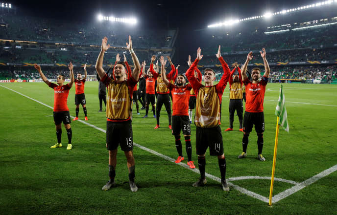 Les Rennais se sont qualifiés pour les huitièmes de finale de la Ligue Europa en s'imposant face au Betis Séville.