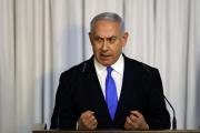 Benyamin Nétanyahou, à Tel Aviv, le 21 février.