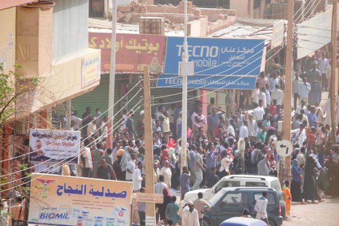 Manifestation antigouvernementale à Khartoum, le 7 février 2019.