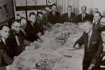 Réunion du conseil d'administration de l'Automotive Parts Remanufacturers Association, en 1958.