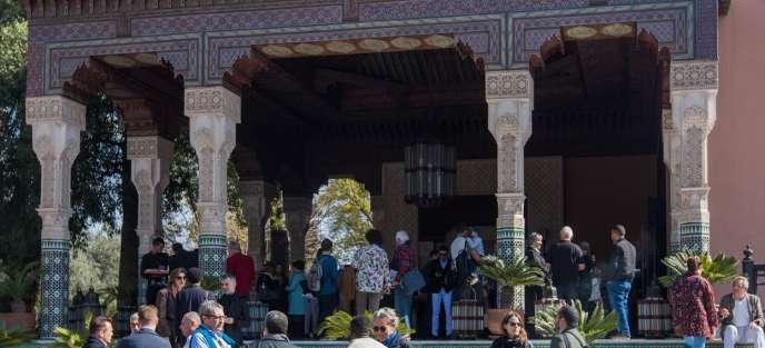 La Foire 1:54 de Marrakech se tient les 23 et 24 février 2019 à l'hôtel La Mamounia.