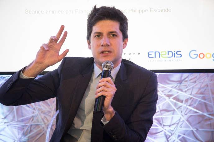 Julien Denormandie, ministre de la cohésion des territoires, jeudi 21 février, au Club de l'économie du« Monde», à Paris.