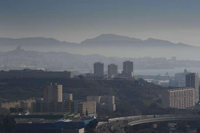 Marseille n'est pas épargnée pas les pics de pollution.