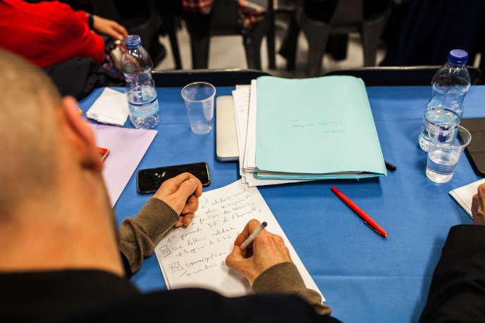 Le grand débat national de Pau, auquel ont participé près de 500 personnes, le 25 janvier.