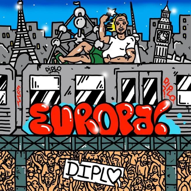 Pochette de l'album« Europa» de Diplo.