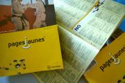 Des exemplaires des Pages Jaunes de la région de Cherbourg-Octeville, édition 2006.