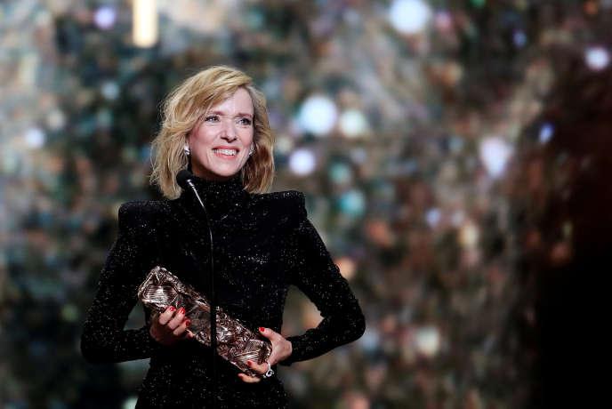 Léa Drucker lauréate du César de la meilleure actrice pour son rôle dans« Jusqu'à la garde».