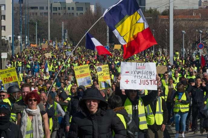 A Clermont-Ferrand, le 23 février.