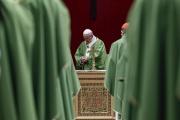 Le pape François, le 24 février, au Vatican.