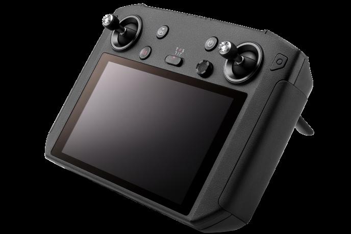 Sur le Smart Controller, les deux mini-joysticks peuvent se dévisser et se clipser à l'arrrière de la radiocommande.
