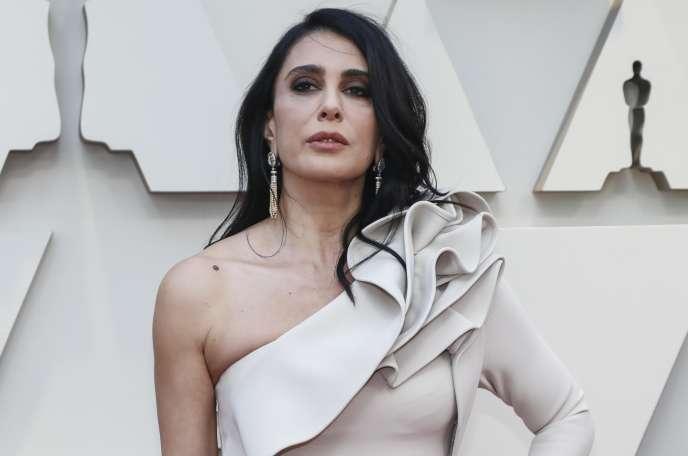 La réalisatrice Nadine Labaki lors de la 91e cérémonie des Oscars à Hollywood, le 24 février.