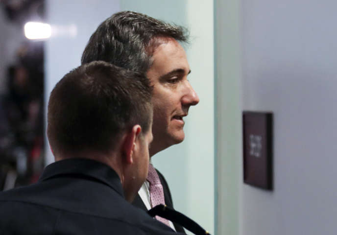 Donald Trump's former lawyer, Michael Cohen, comes to witness closed doors in Washington, DC on February 26, 2019.