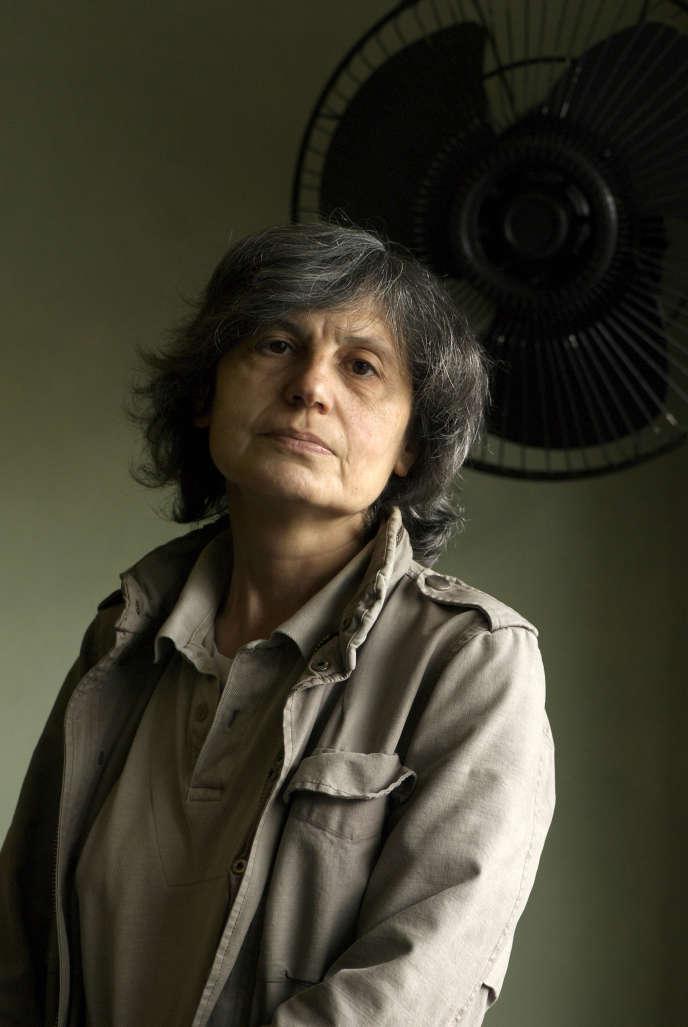 L'écrivaine Cécile Wajsbrot, en 2008.