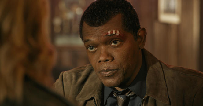 Samuel L. Jackson reprend le rôle de Nick Fury dans « Captain Marvel ».