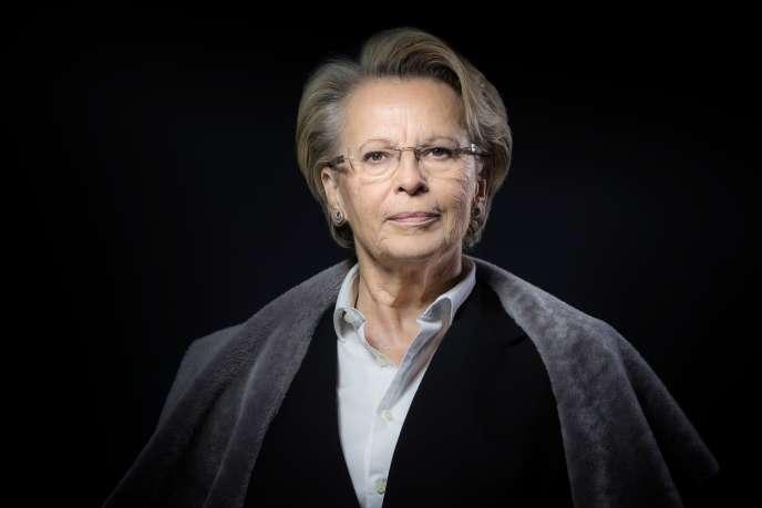 Michèle Alliot-Marie, le 21 décembre 2016.