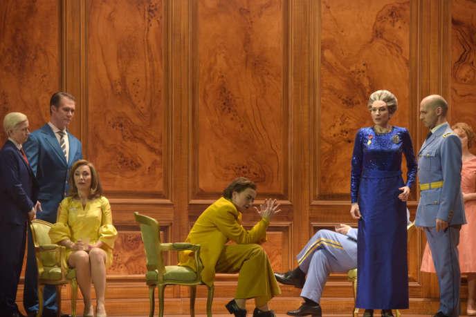 «Les Troyens» dans une mise en scène de Dmitri Tcherniakov.