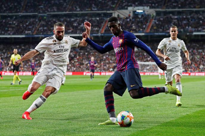 Ousmane Dembélé a été décisif face au Real Madrid en Coupe du roi.
