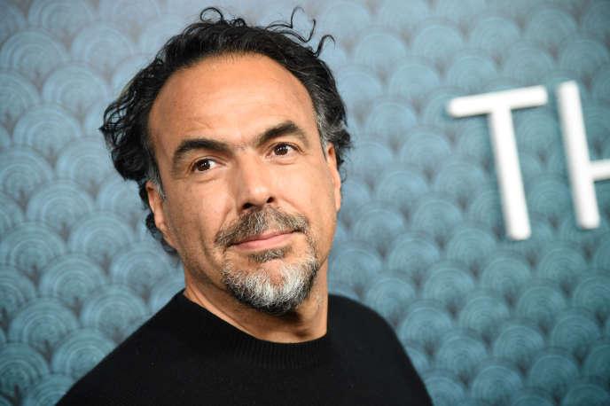 Le cinéaste mexicain Alejandro GonzalezIñárrituà BeverlyHills(Californie), ennovembre 2017.